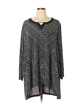 Catherines 3/4 Sleeve Top Size 1X (Plus)