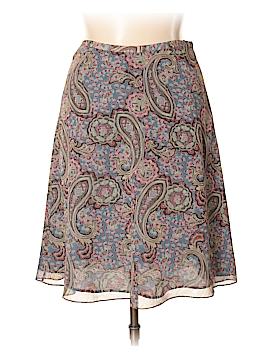 Valerie Stevens Silk Skirt Size 14 (Petite)