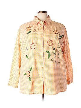 BFA Classics Long Sleeve Button-Down Shirt Size 3X (Plus)