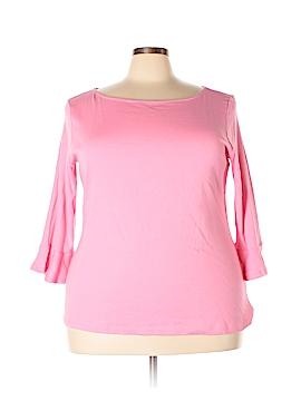 Chadwicks 3/4 Sleeve T-Shirt Size 2X (Plus)