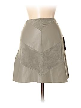 Zara Basic Faux Leather Skirt Size S