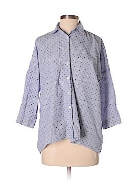 Zara 3/4 Sleeve Button-Down Shirt Size XS