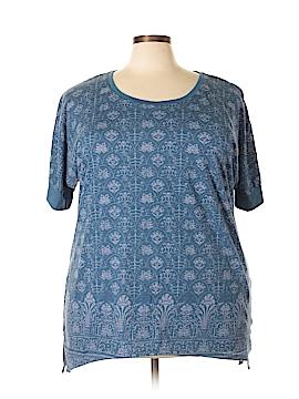 SONOMA life + style Short Sleeve Top Size 2X (Plus)