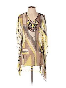 Mint Short Sleeve Silk Top Size 4