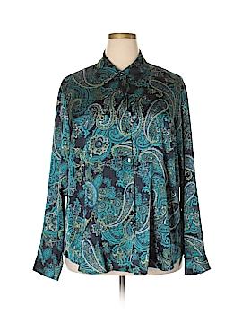Jones New York Collection Long Sleeve Blouse Size 20W (Plus)