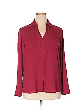 Express Long Sleeve Blouse Size XL