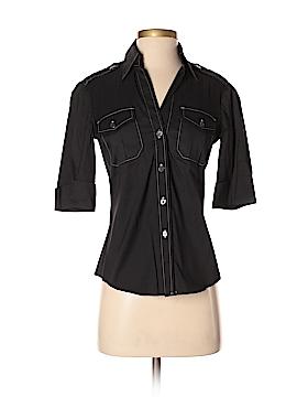 Trina Turk 3/4 Sleeve Button-Down Shirt Size S