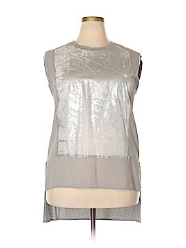 PureDKNY Short Sleeve Button-Down Shirt Size L