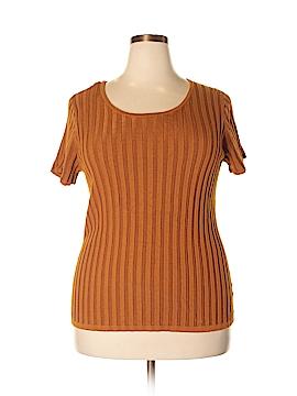 Evan Picone Pullover Sweater Size 1X (Plus)