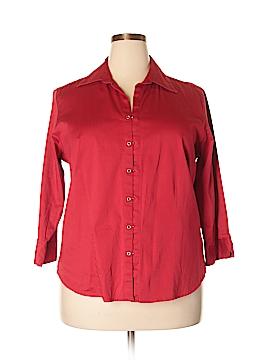 DressBarn 3/4 Sleeve Blouse Size 18 (Plus)