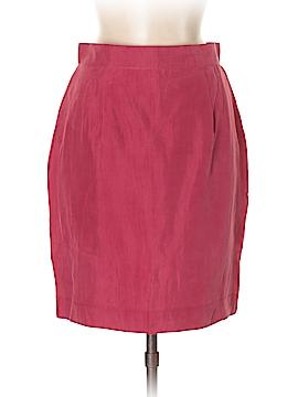 Vittorio Silk Skirt Size 44 (IT)