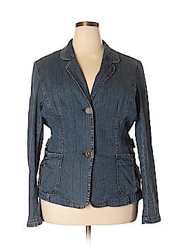 St. John's Bay Denim Jacket Size 2X (Plus)