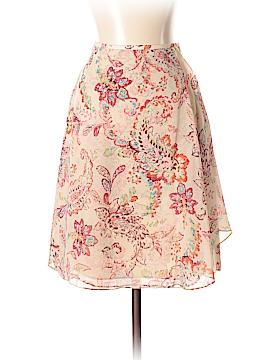 Ann Taylor Silk Skirt Size 3 (Petite)