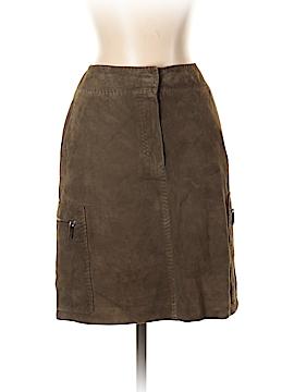Max Mara Leather Skirt Size 4
