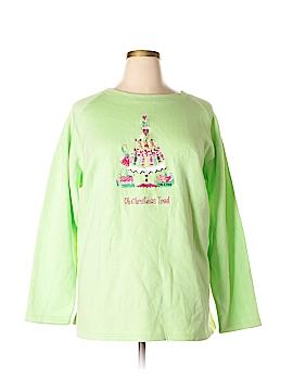 The Quacker Factory Sweatshirt Size 2X (Plus)