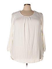 Melissa McCarthy Seven7 Long Sleeve Top