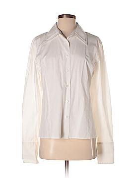 Rafaella Long Sleeve Button-Down Shirt Size 14