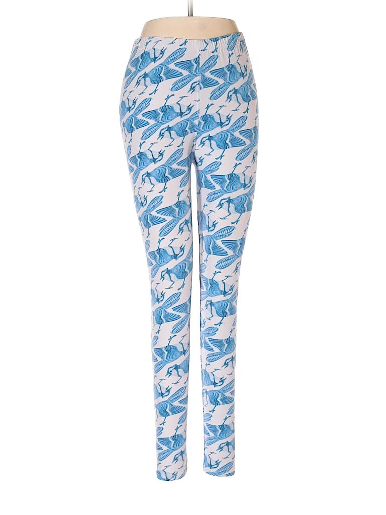 82172f5e44be06 Lularoe Solid Blue Leggings One Size - 84% off | thredUP