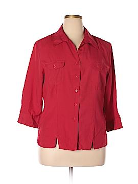 Joanna 3/4 Sleeve Blouse Size 1X (Plus)