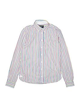 Hackett London Long Sleeve Button-Down Shirt Size 11 - 12