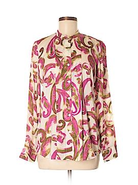 Foxcroft Long Sleeve Blouse Size 6
