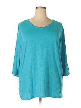 Catherines Short Sleeve T-Shirt Size 1X (Plus)