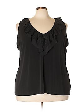 Susan Graver Sleeveless Blouse Size 3X (Plus)