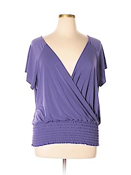 Ashley Stewart Short Sleeve Top Size 22 (Plus)