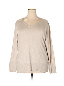 Eddie Bauer Pullover Sweater Size 2X (Plus)