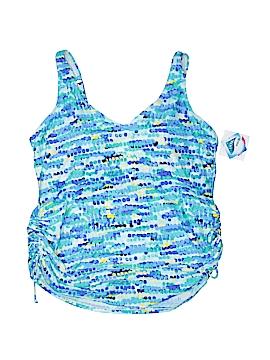 Croft & Barrow Swimsuit Top Size 24 W (Plus)