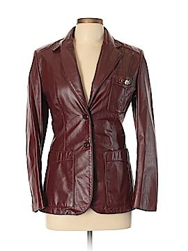 Etienne Aigner Leather Jacket Size 10