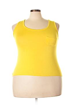 Splash Sleeveless T-Shirt Size 1X (Plus)