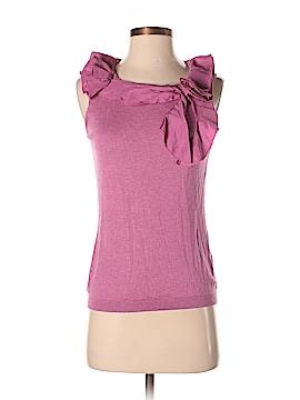 Magaschoni Sleeveless Silk Top Size S
