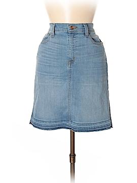 J. Crew Denim Skirt 28 Waist (Petite)