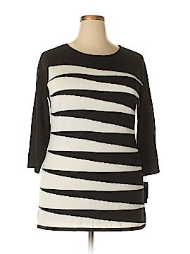 Doncaster 3/4 Sleeve Top Size 1X (Plus)