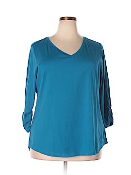 Style&Co 3/4 Sleeve T-Shirt Size 3X (Plus)