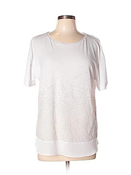 Simply Vera Vera Wang Short Sleeve Top Size L