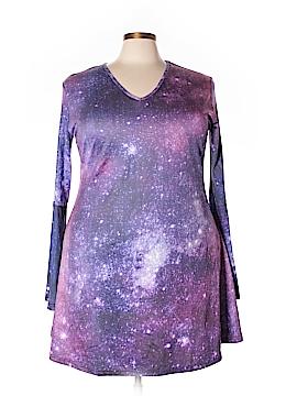 Azalea Casual Dress Size 3X (Plus)