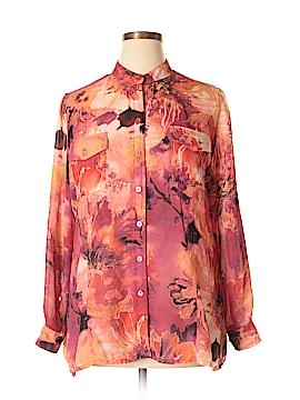 TanJay Long Sleeve Blouse Size L