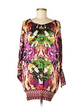 Custo Barcelona 3/4 Sleeve Silk Top Size M