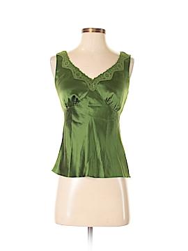 Jones New York Signature Sleeveless Silk Top Size P