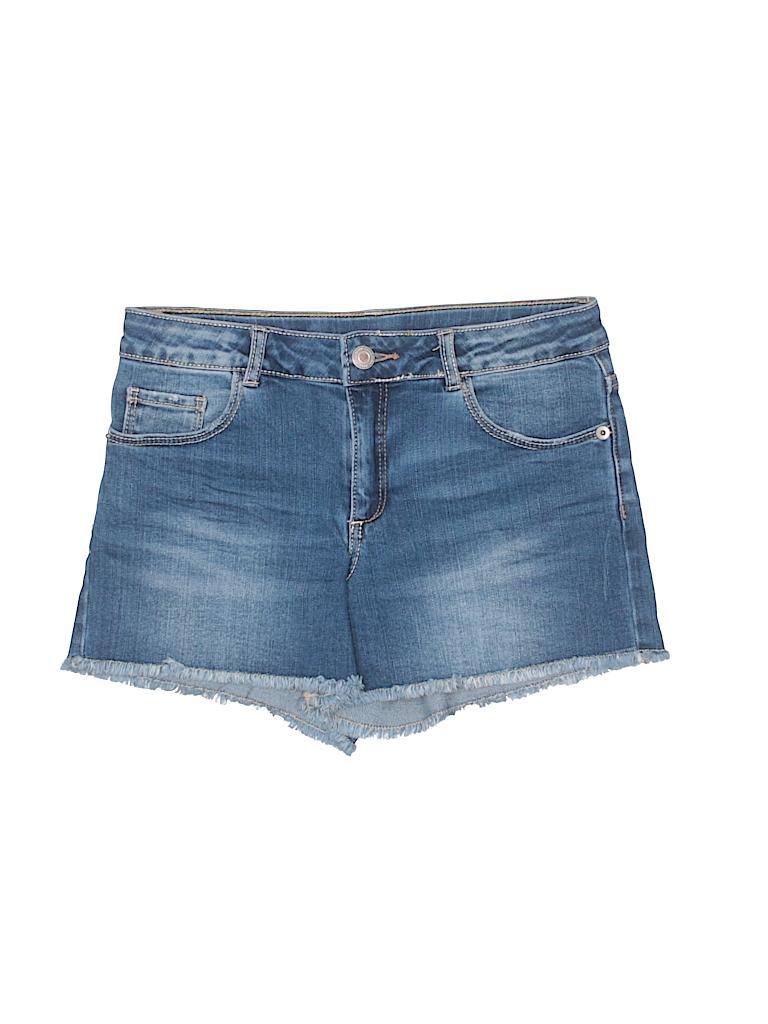 b7b951e9 Check it out -- Zara Denim Shorts for $11.99 on thredUP!