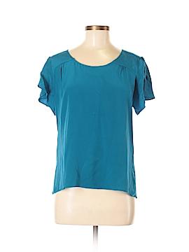 Geren Ford Short Sleeve Silk Top Size L