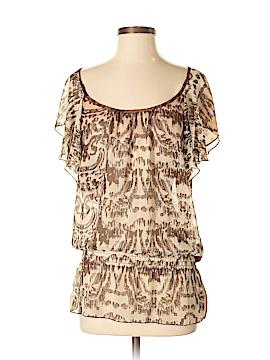 Hy & Dot Short Sleeve Blouse Size S