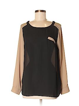 AB Studio Long Sleeve Blouse Size M