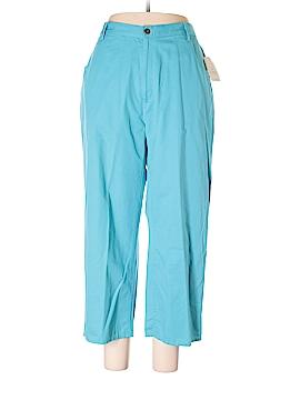 Elisabeth by Liz Claiborne Khakis Size 18W (Plus)