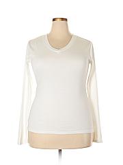 Mossimo Women Long Sleeve T-Shirt Size XL