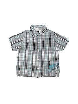 Kola Kids Short Sleeve Button-Down Shirt Size 12 mo