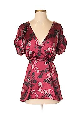 Daisy Fuentes Short Sleeve Blouse Size 1X (Plus)