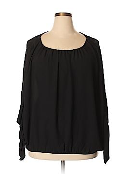 RACHEL Rachel Roy Long Sleeve Blouse Size 3X (Plus)